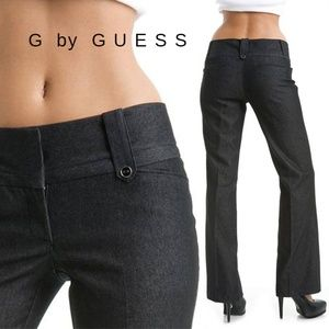 G BY GUESS CHARLESE DRESSY PANTS